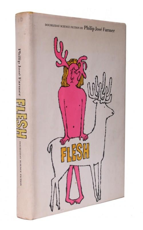 Philip Jose Farmer - Flesh - Doubleday, 1968, US Signed First Edition