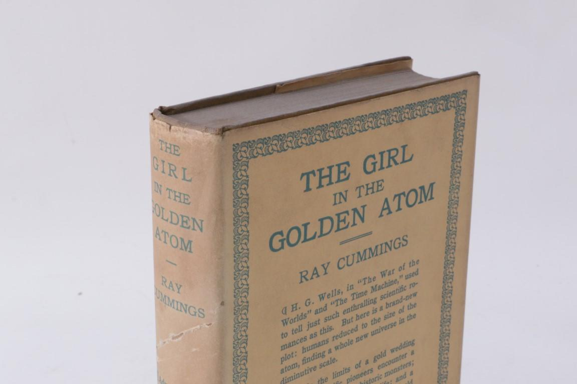 Ray Cummings - The Girl in the Golden Atom - Harper & Brothers, 1923, First Edition.