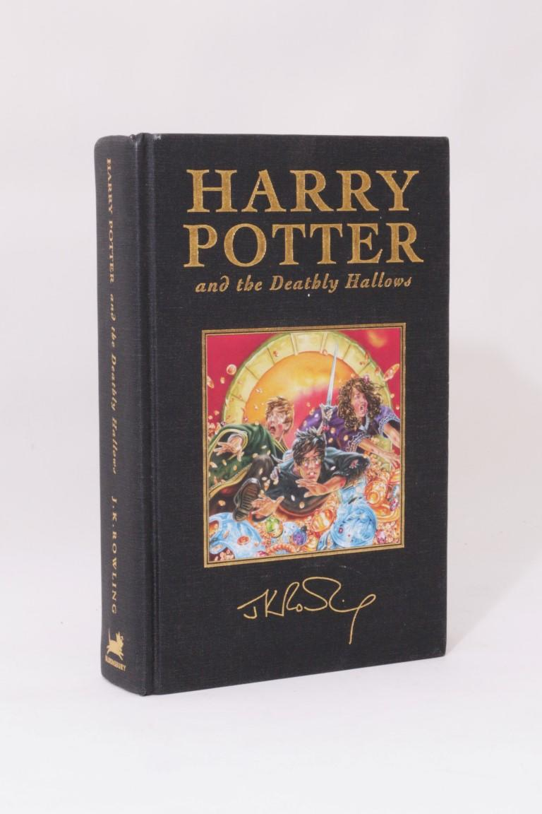 J.K. Rowling - Harry Potter and the Deathly Hallows - Bloomsbury, 2007, First Thus. Signed