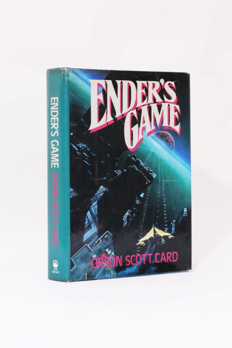 Orson Scott Card - Ender's Game - Tor, 1985, First Edition.