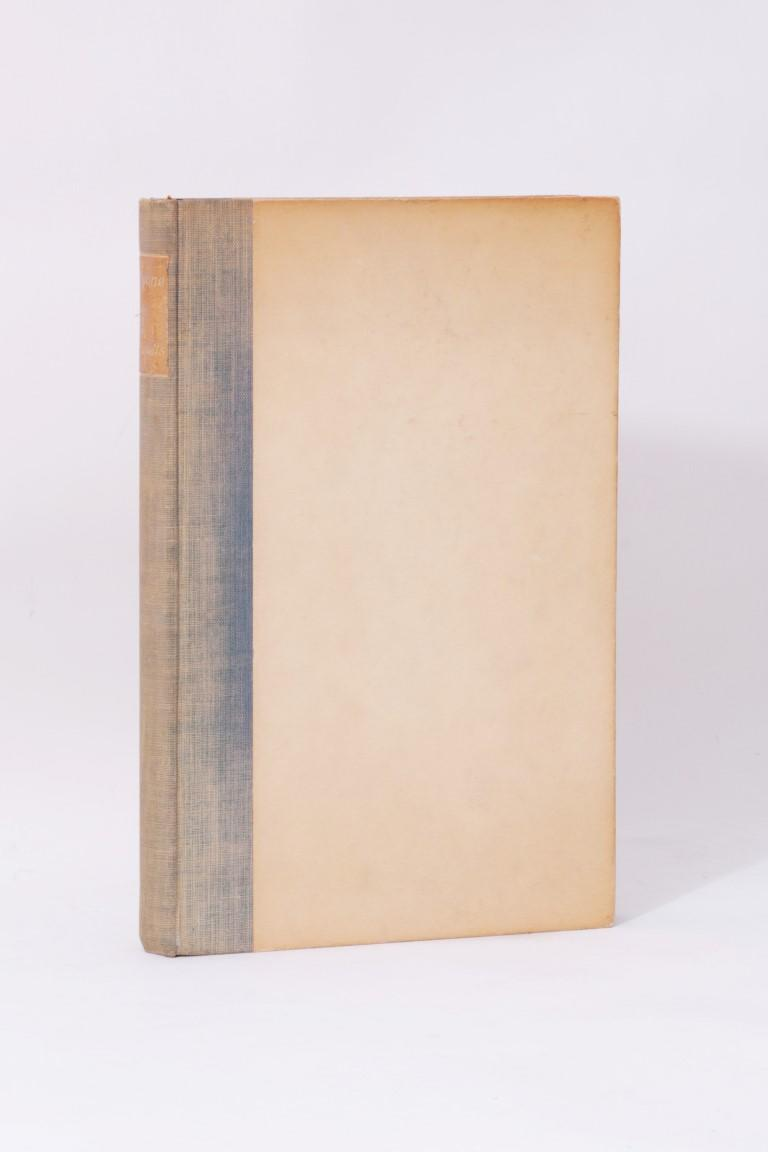 Eden Phillpotts - Alcyone - Ernest Benn, 1930, Limited Edition.  Signed