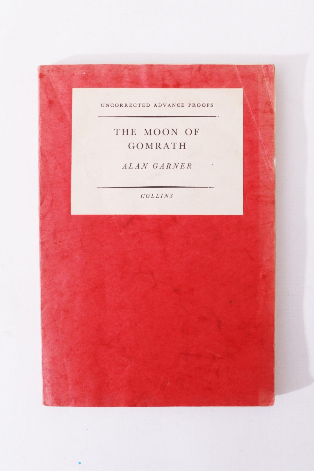 Alan Garner - The Moon of Gomrath - Collins, 1963, Proof.
