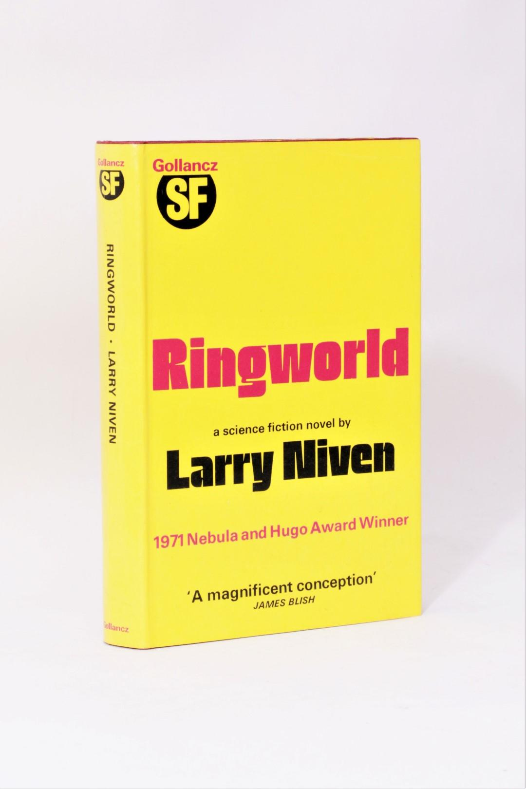 Larry Niven - Ringworld - Gollancz, 1972, First Edition.