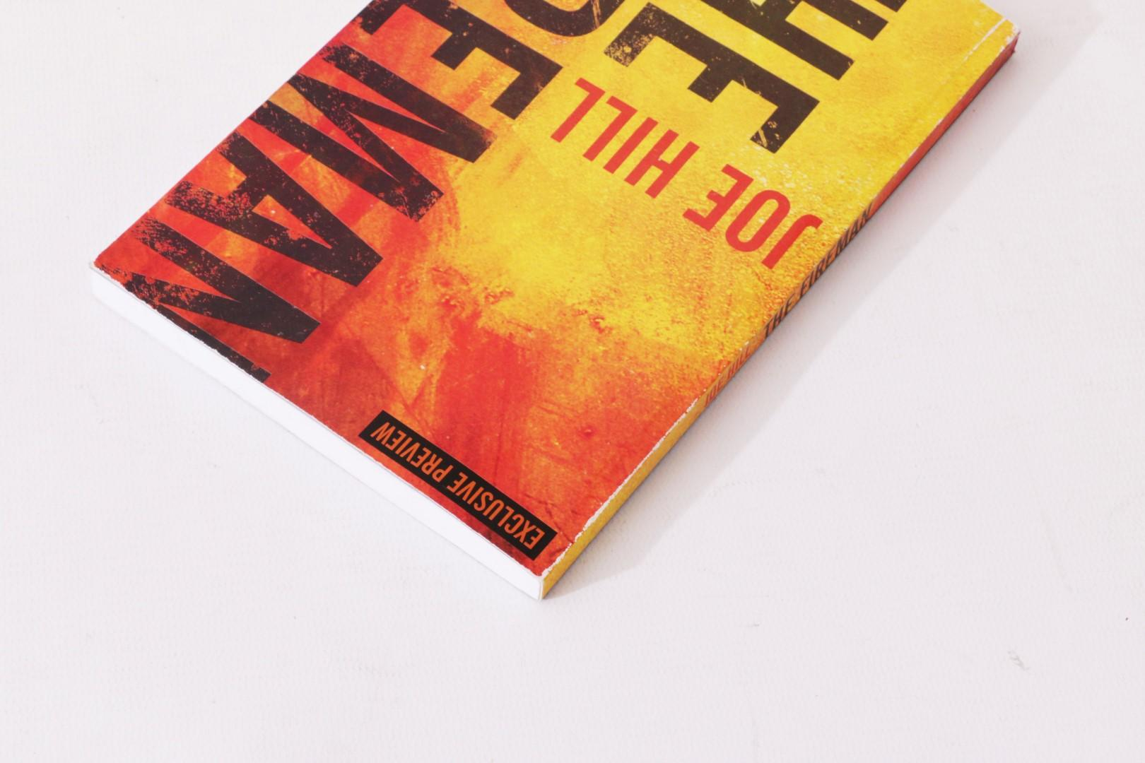 Joe Hill - The Fireman - Gollancz, 2016, Proof.