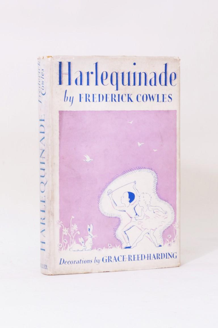 Frederick Cowles - Harlequinade - Frederick Muller, 1937, First Edition.