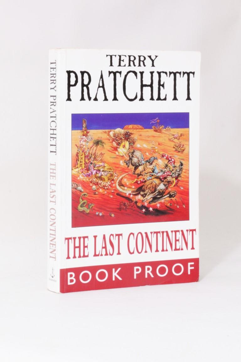 Terry Pratchett - The Last Continent - Doubleday, 1998, Proof.