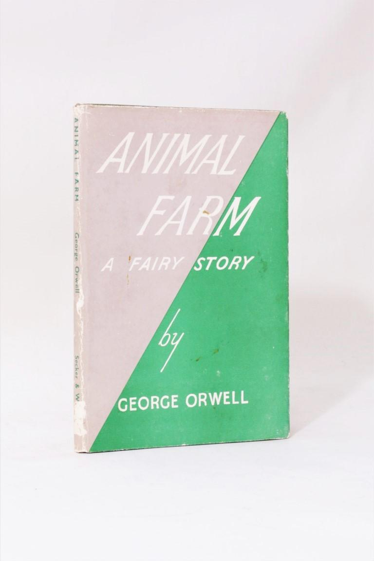 George Orwell - Animal Farm - Secker & Warburg, 1945, First Edition.