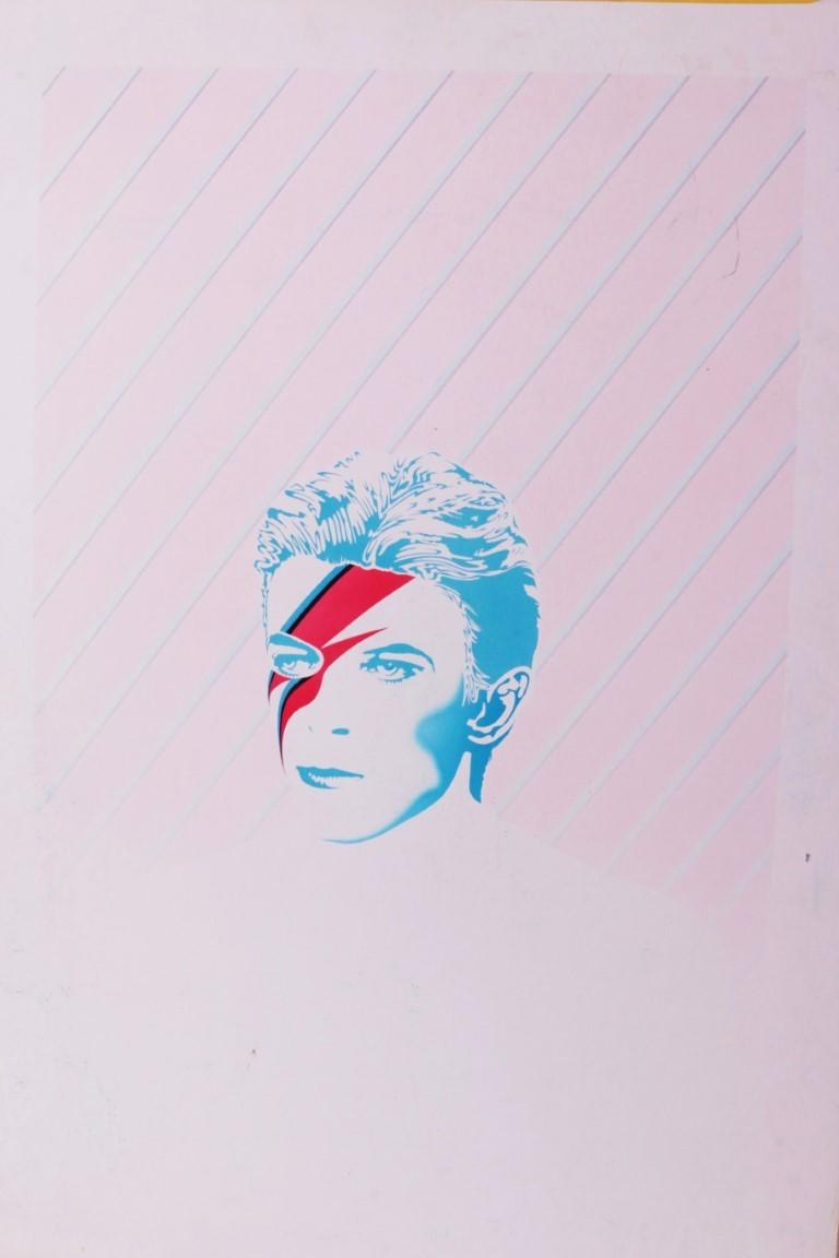 Anonymous - Original Artwork for 'Alias David Bowie' by Peter and Leni Gillman - None, c. 1986, .