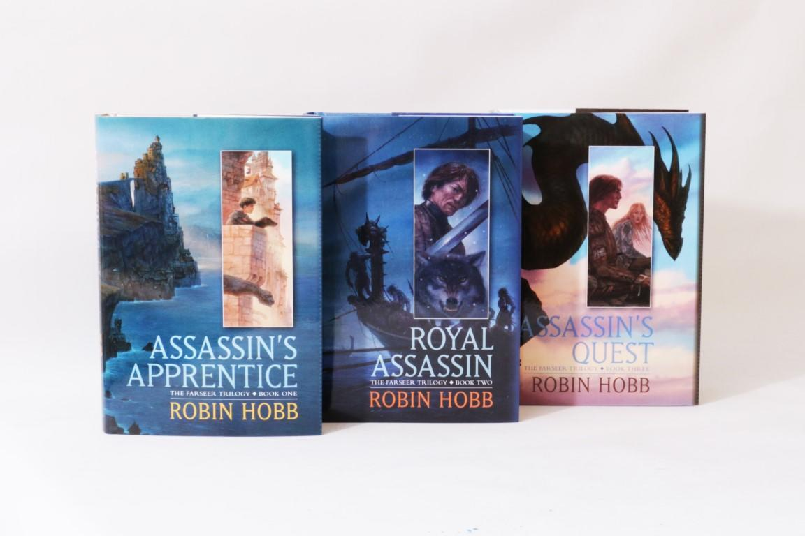 Robin Hobb - The Farseer Trilogy [comprising] Assassin's Apprentice, Royal Assassin and Assassin's Quest - Subterranean Press, 2016, Signed Limited Edition.