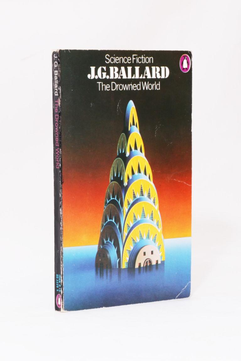 J.G. Ballard - The Drowned World [Douglas Adams' Copy] - Penguin, 1974, Later Edition.