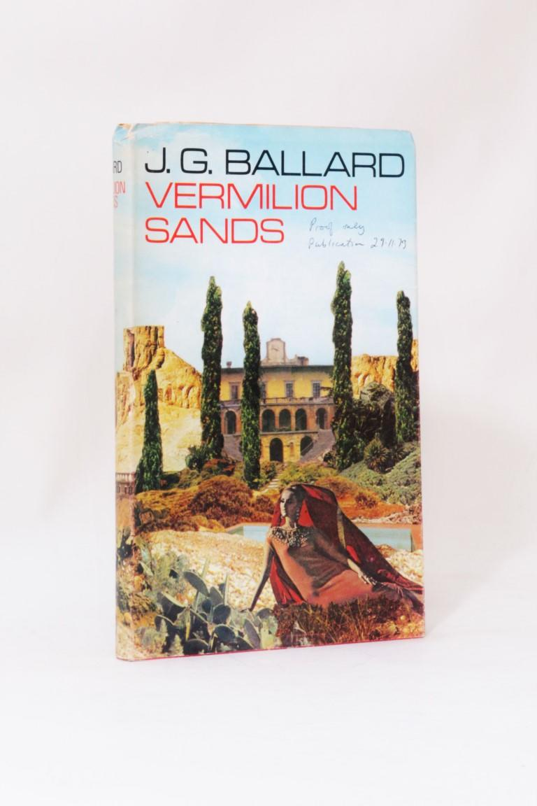 J.G. Ballard - Vermilion Sands - Jonathan Cape, 1973, Proof. Signed