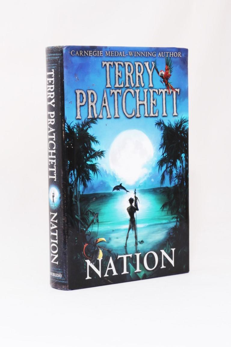 Terry Pratchett - Nation - Doubleday, 2008, First Edition.
