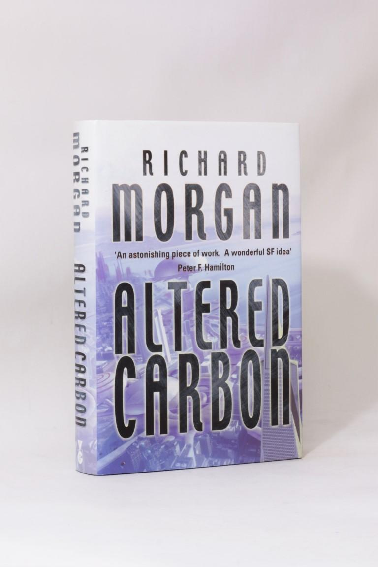 Richard Morgan - Altered Carbon - Gollancz, 2002,Signed First Edition.