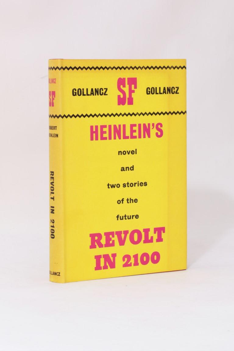 Robert A. Heinlein - Revolt in 2100 - Gollancz, 1964, First Edition.