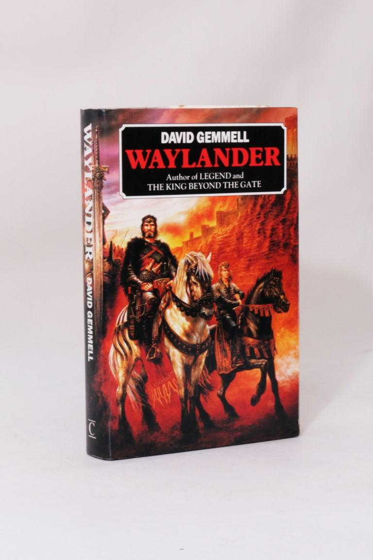 David Gemmell - Waylander - Century, 1986, First Edition.  Signed