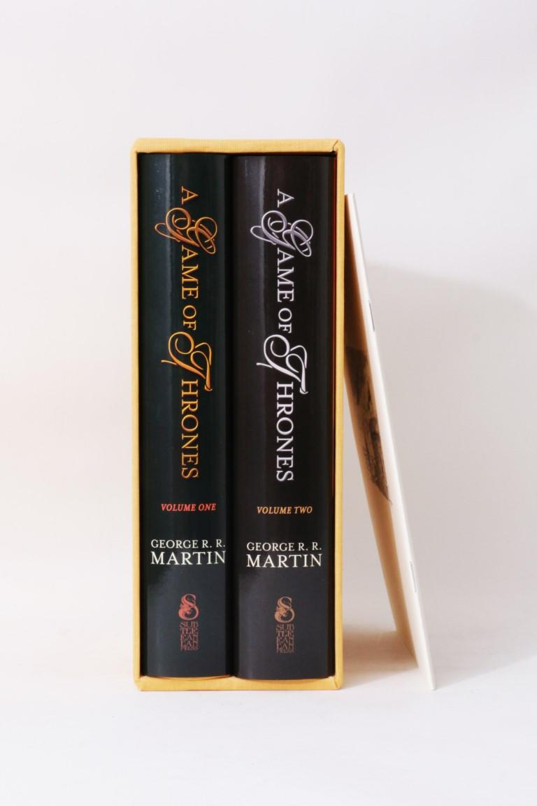 George R.R. Martin - A Game of Thrones - Subterranean Press, 2015, Limited Edition.  Signed