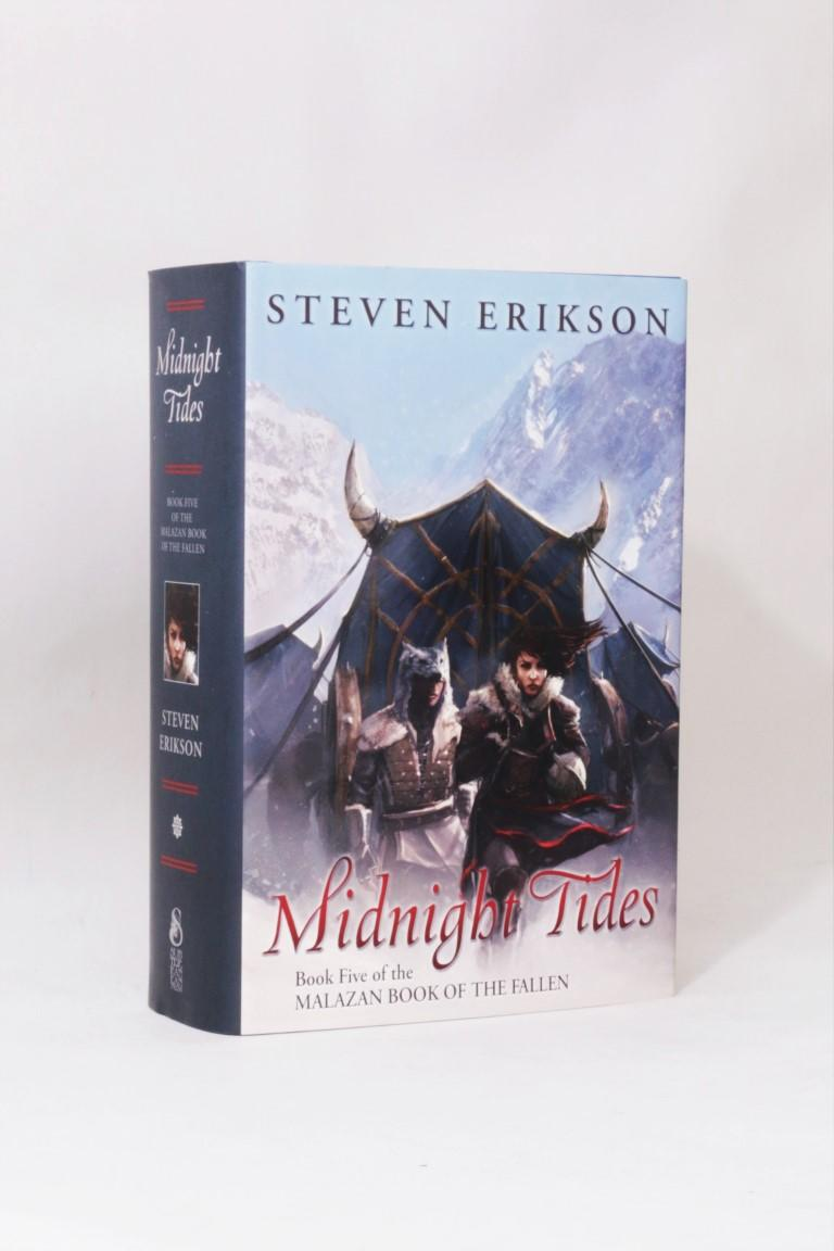 Steven Erikson - Midnight Tides - Subterranean Press, 2015, Signed Limited Edition.
