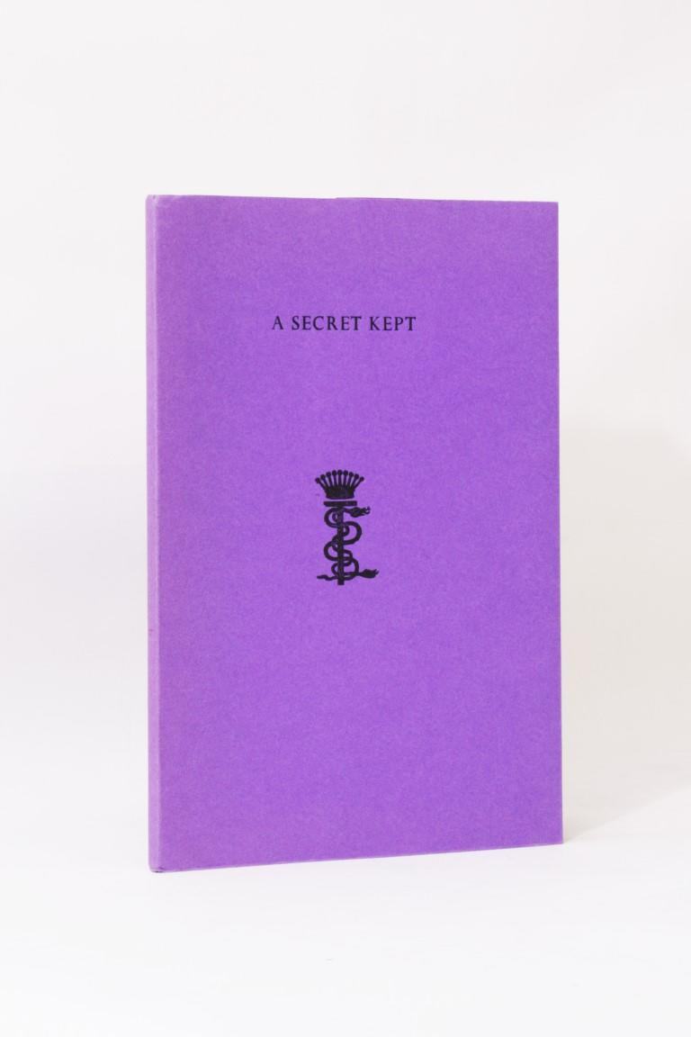 Count Stanislaus Eric Stenbock - A Secret Kept - Durtro Press, 2002, Limited Edition.