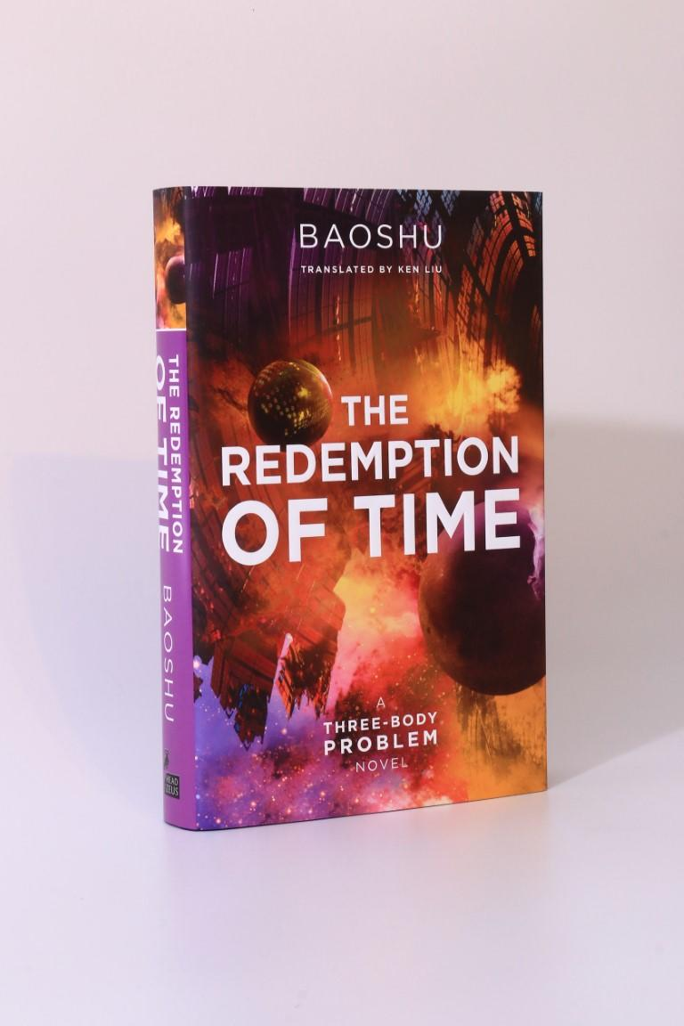 Baoshu - The Redemption of Time - Head of Zeus, 2019, Signed First Edition.