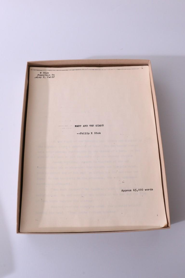 Philip K. Dick - Mary and the Giant - None, 1986, Manuscript.