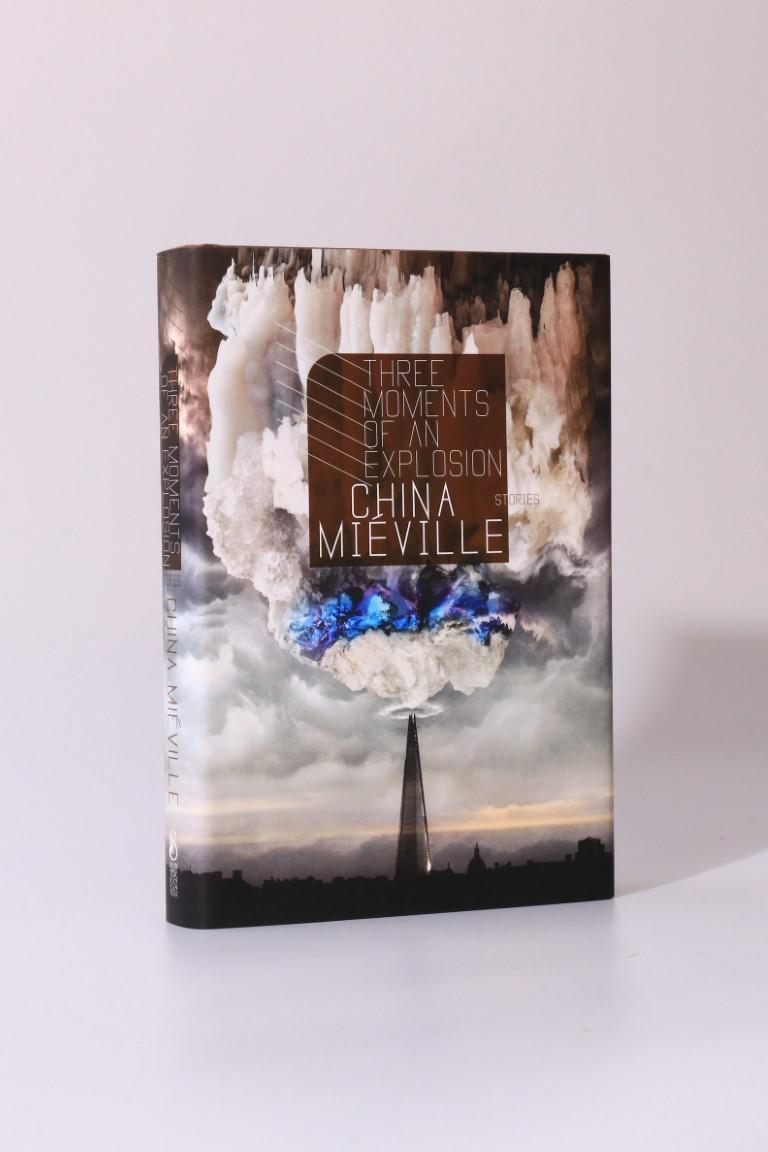 China Mieville - Three Moments of an Explosion: Stories - Subterranean Press, 2015, Signed Limited Edition.
