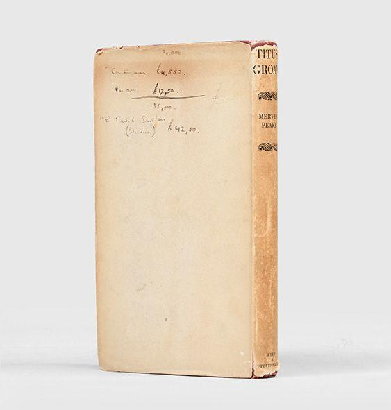 Mervyn Peake - Titus Groan - Eyre & Spottiswoode, 1946, Signed First Edition.