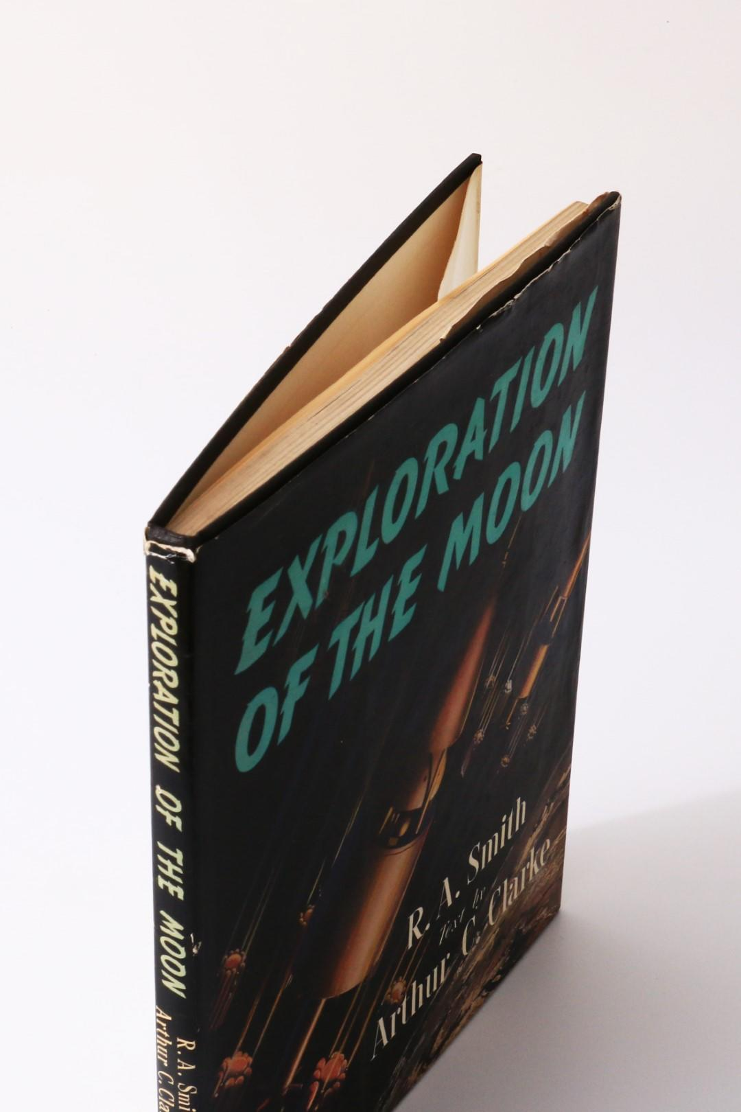 Arthur C. Clarke - Exploration of the Moon - Frederick Muller, 1954, First Edition.
