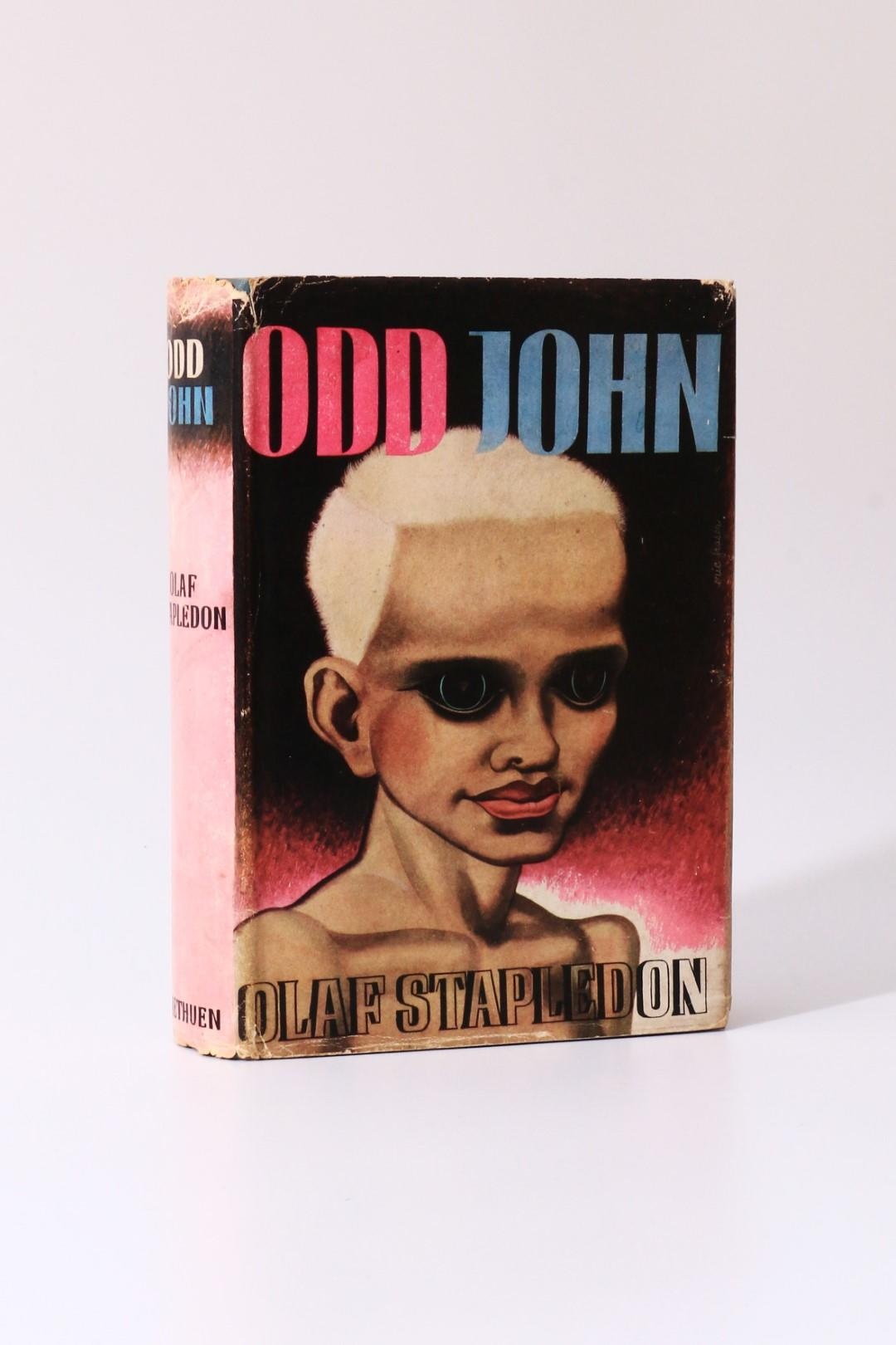 Olaf Stapledon - Odd John - Methuen, 1935, First Edition.
