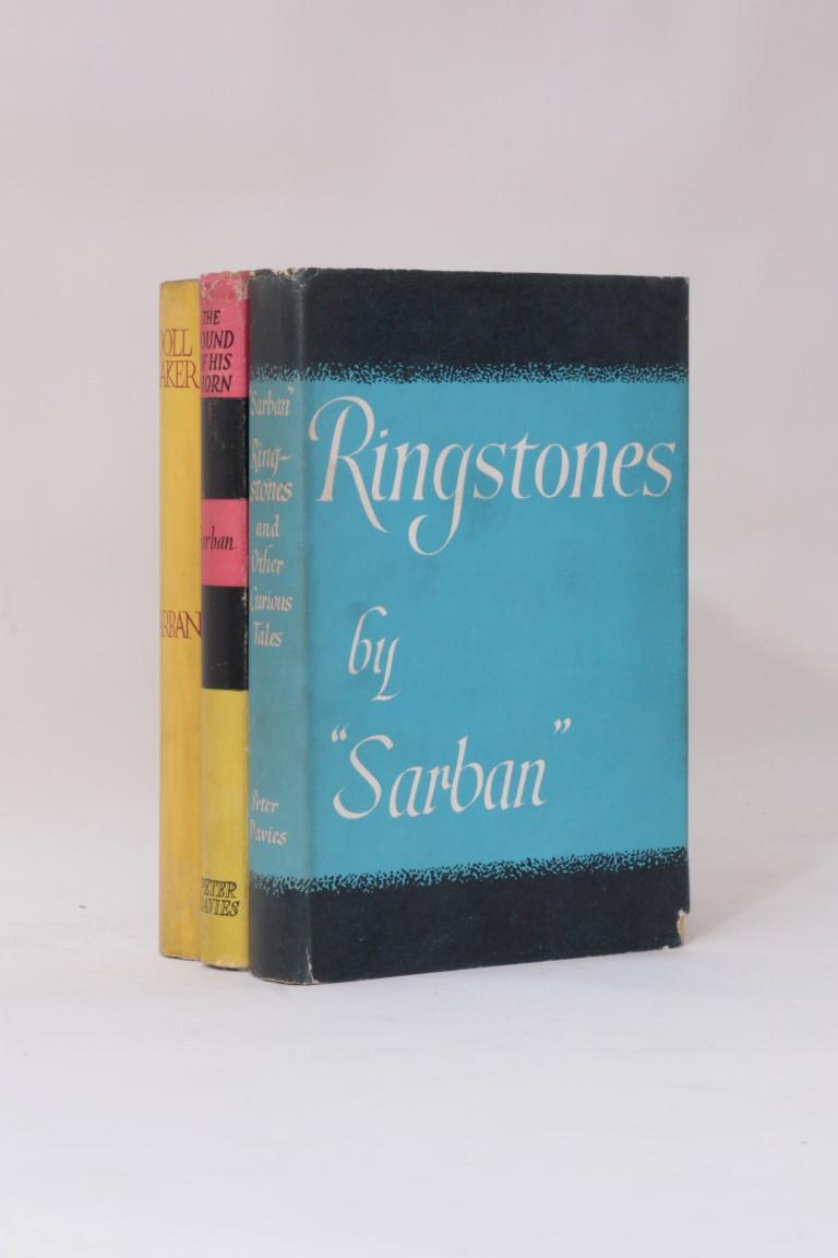 Sarban - The Works [comprising] Ringstones, The Sound of the Horn & The Doll maker - Peter Davies, 1951-1953, First Edition.