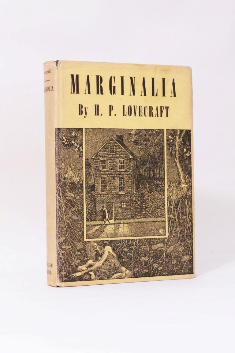 H.P. Lovecraft [ed. August Derleth & Donald Wandrei] - Marginalia - Arkham House, 1944, First Edition.