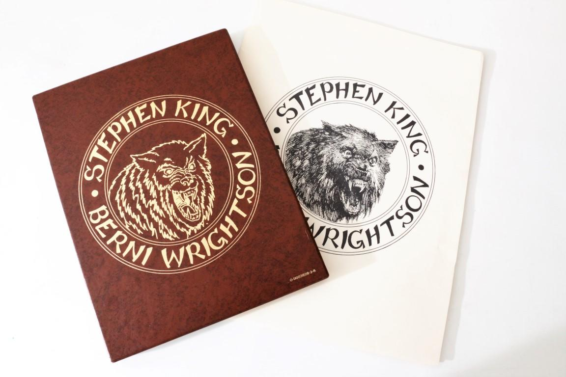 Stephen King - Cycle of the Werewolf w/ Portfolio - Land of Enchantment / Christopher Zavisa, 1983, Limited Edition.