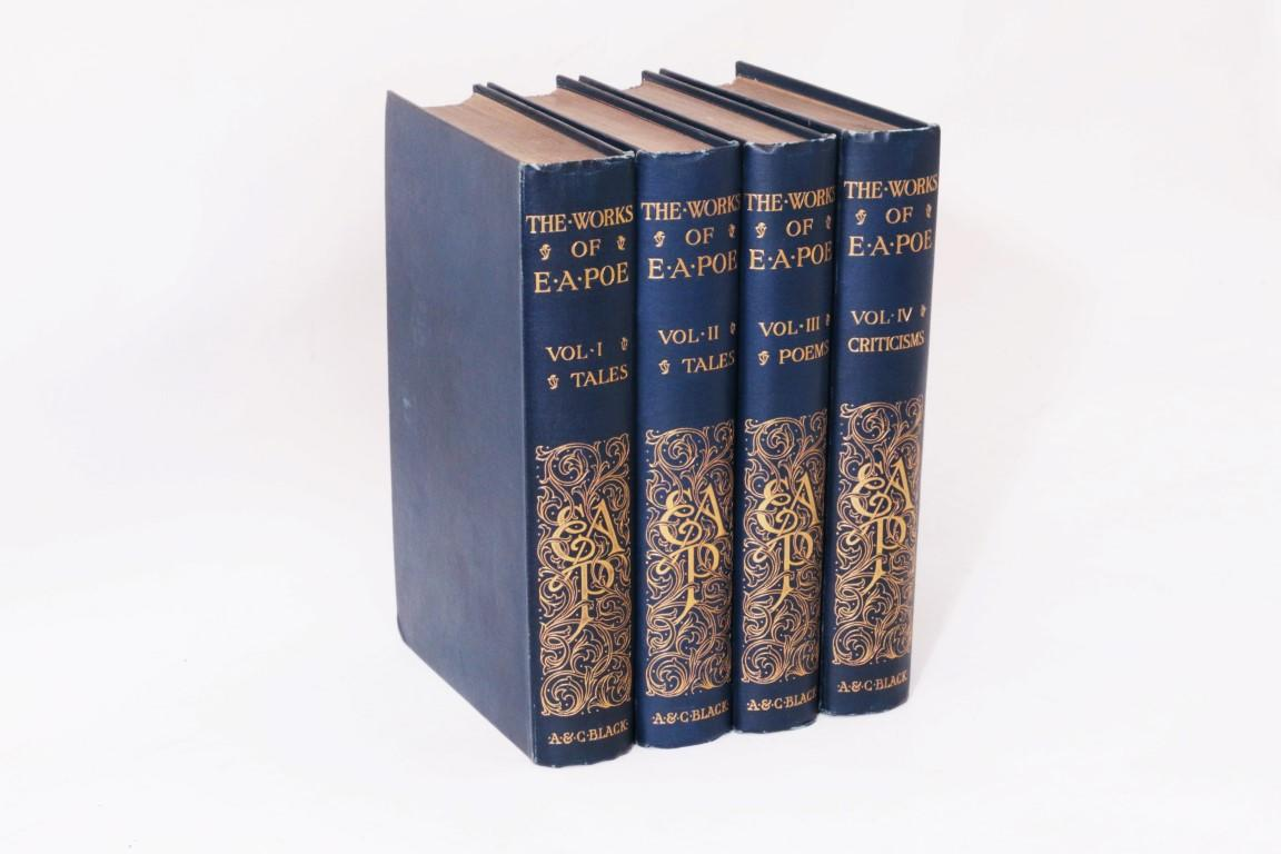 Edgar Allen Poe - The Works: Standard Edition - A&C Black, 1901, Later Edition.