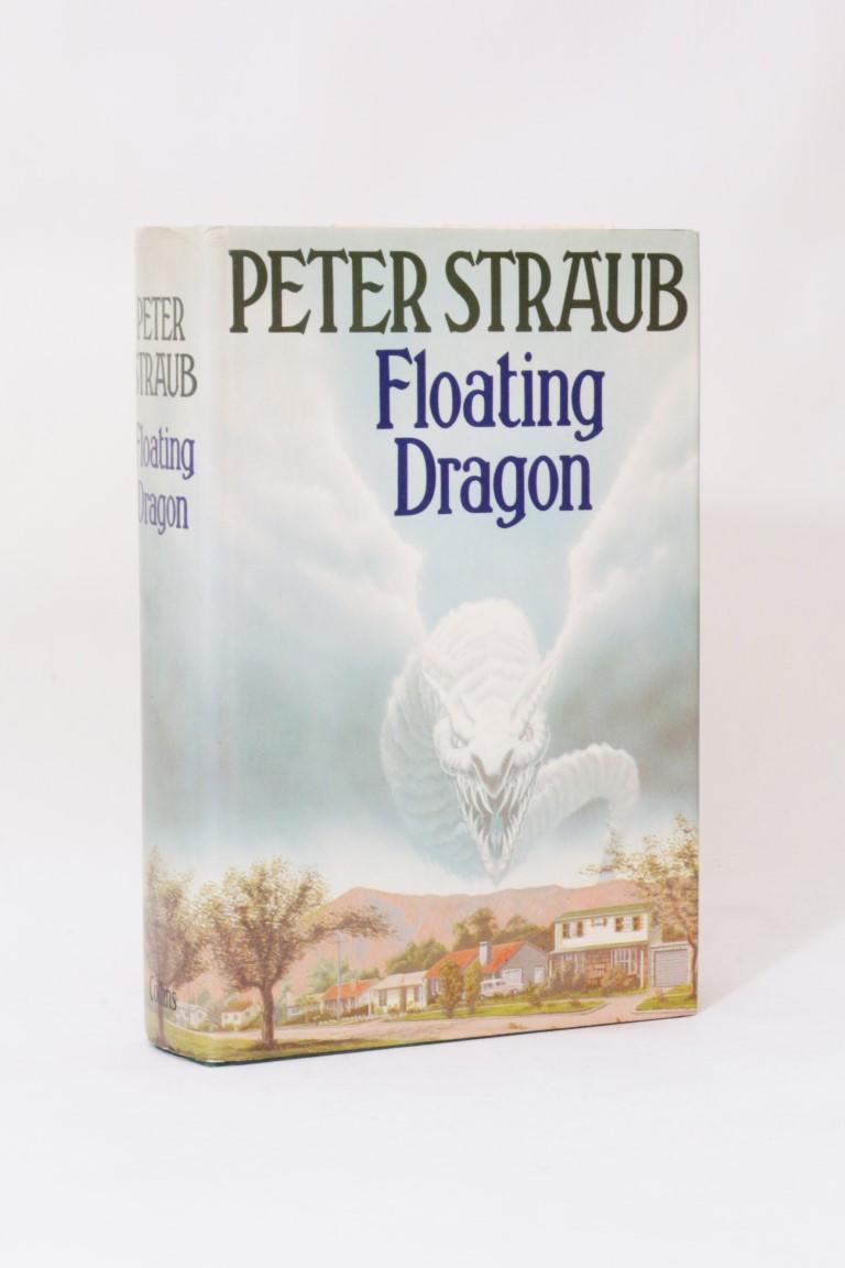 Peter Straub - Floating Dragon - Collins, 1983, Signed First Edition.