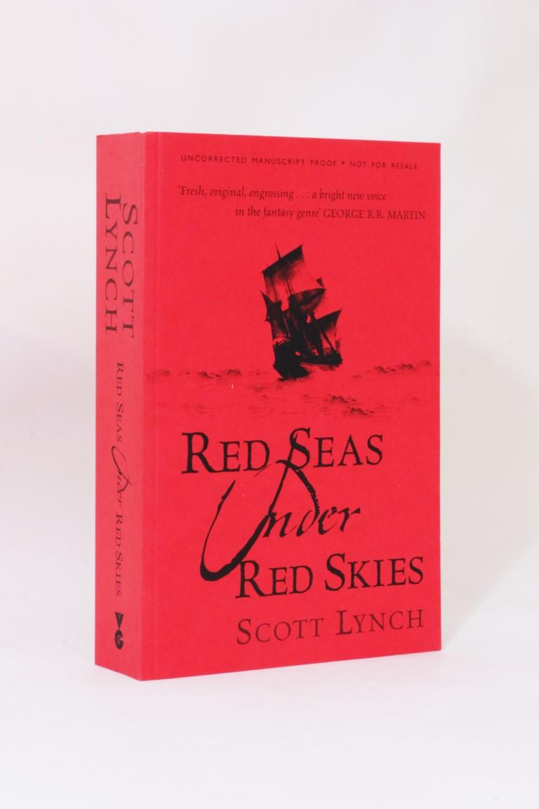 Scott Lynch - Red Seas Under Red Skies - Gollancz, 2007, Proof. Signed