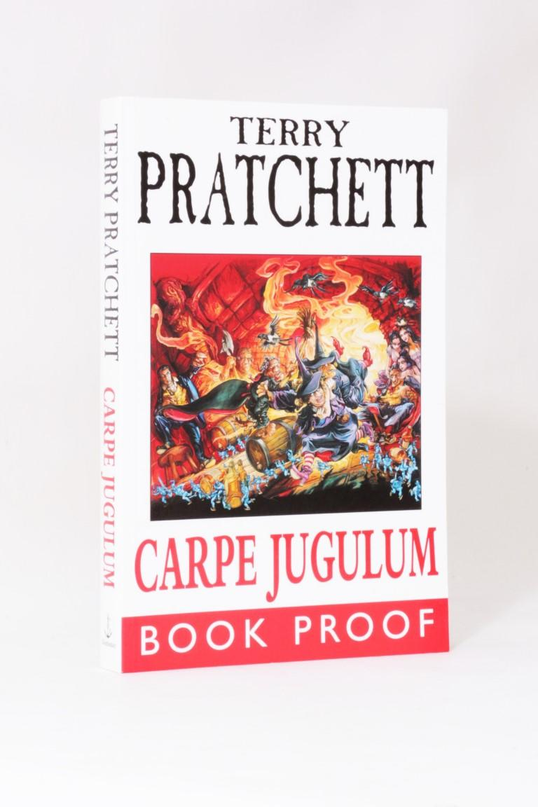 Terry Pratchett - Carpe Jugulum - Doubleday, 1998, Proof.