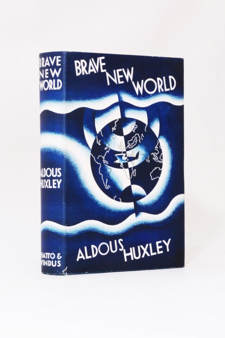 Aldous Huxley - Brave New World - Chatto & Windus, 1932, First Edition.