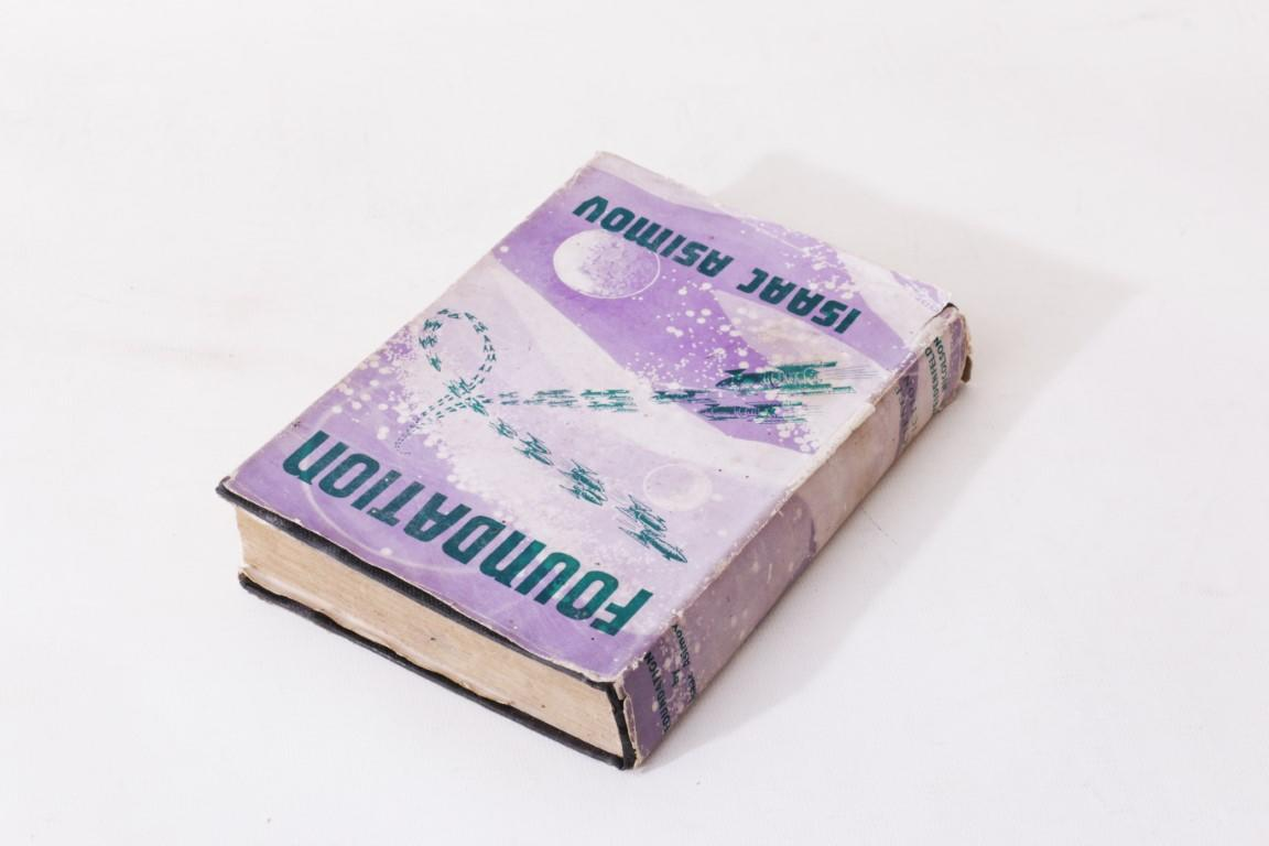 Isaac Asimov - Foundation - Weidenfeld & Nicolson, 1953, First Edition.