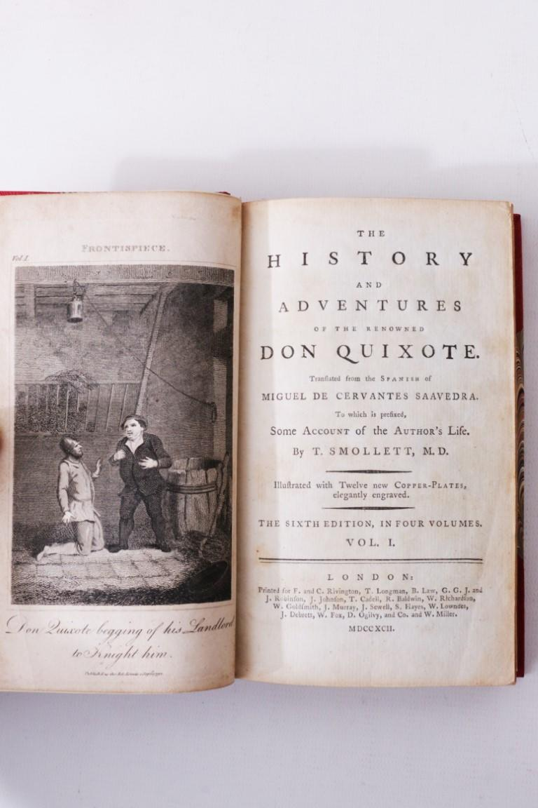 Miguel de Cervantes Saavedra - The History and Adventures of the Renowned Don Quixote - F. & C. Rivington, T. Longman, B. Law et al., 1792, Sixth Edition Thus.