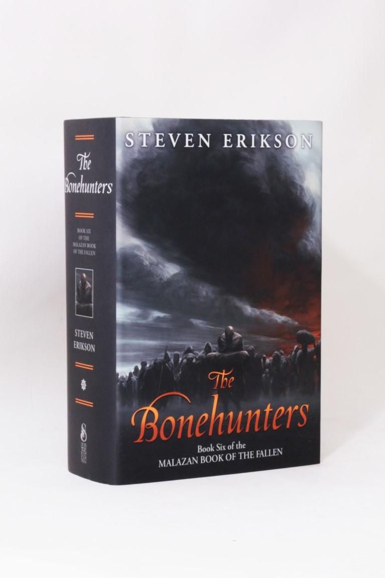 Steven Erikson - The Bonehunters - Subterranean Press, 2016, Signed Limited Edition.