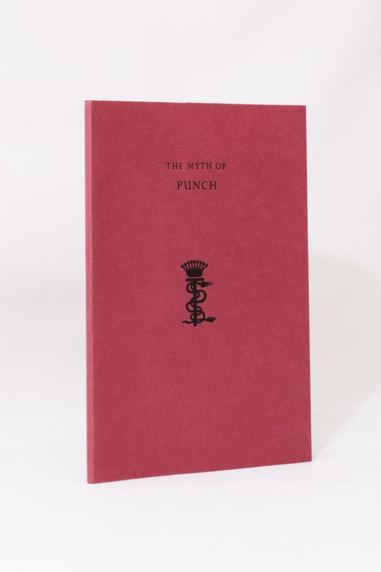 Eric, Count Stenbock - The Myth of Punch - Durtro Press, 1999, Signed Limited Edition.