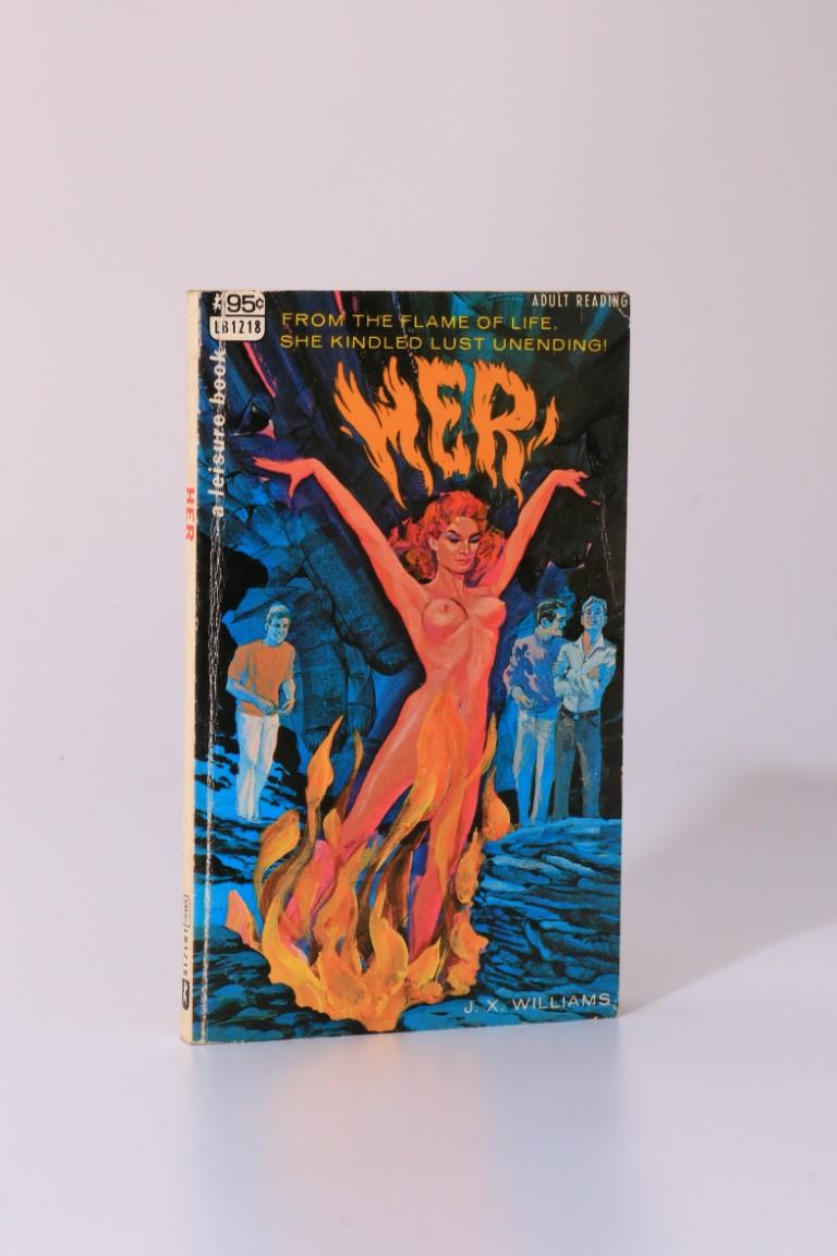 J.X. Williams [H. Rider Haggard interest] - Her - Leisure Book & Corinth Publications, 1967, First Edition.