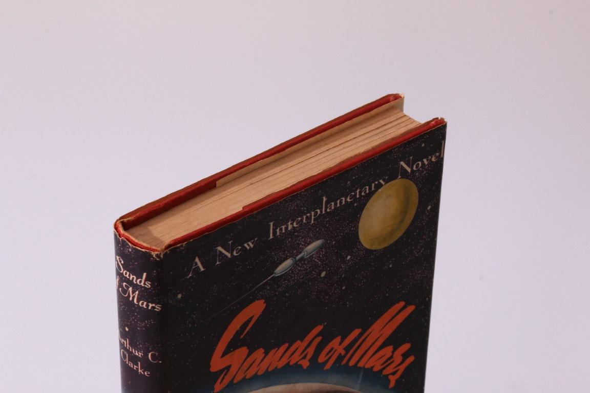 Arthur C. Clarke - Sands of Mars - Gnome Press, 1952, First Edition.