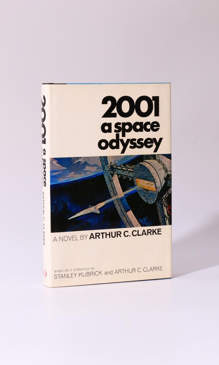 Arthur C. Clarke - 2001: A Space Odyssey - NAL / New American Library, 1969, First Edition.