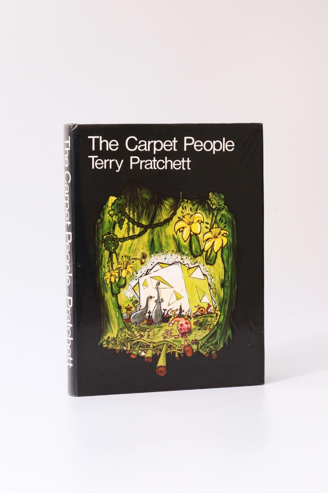 Terry Pratchett - The Carpet People - Colin Smythe, 1971, Signed First Edition.
