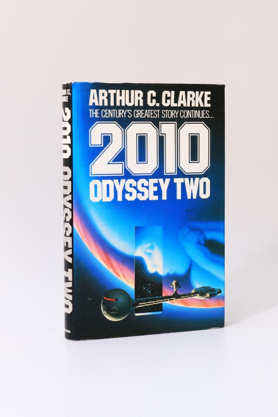 Arthur C. Clarke - 2010: Odyssesy Two - Granada, 1982, Signed First Edition.