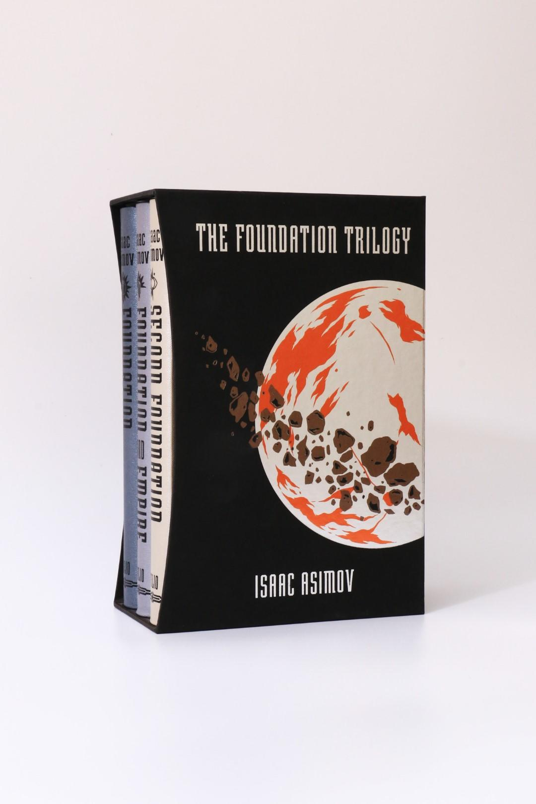 Isaac Asimov - The Foundation Trilogy [comprising] Foundation, Foundation & Empire, and Second Foundation - Folio Society, 2016, First Thus.