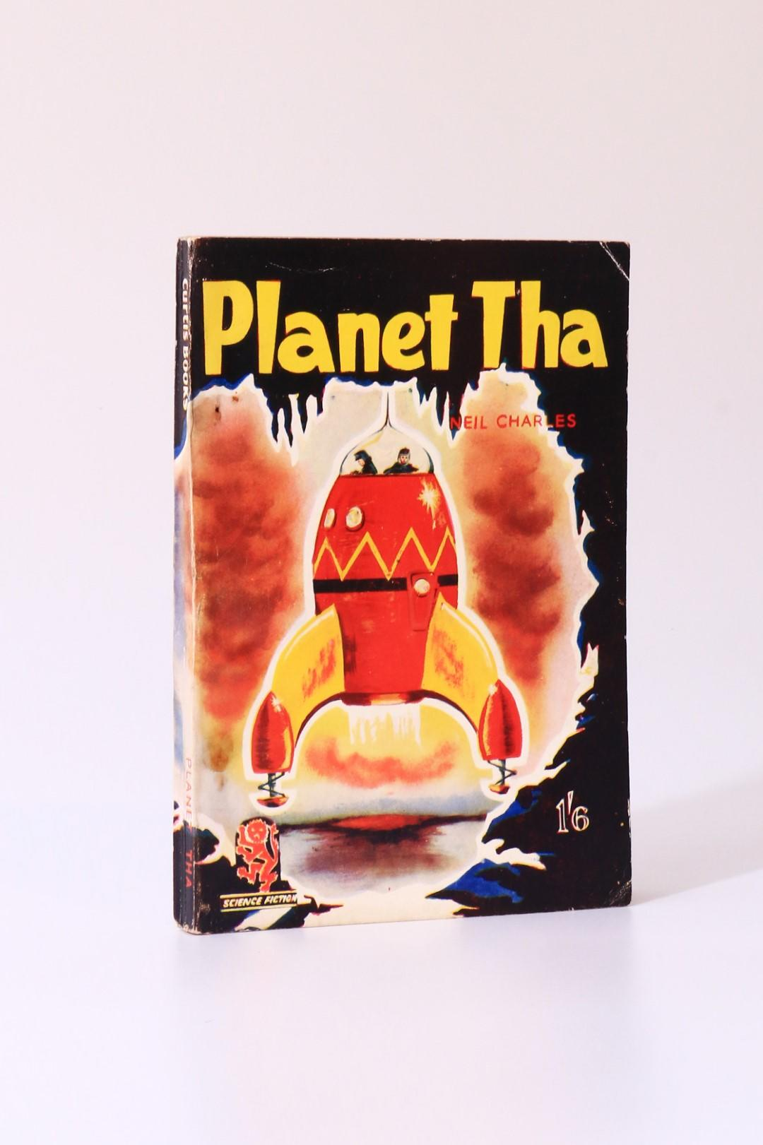 Neil Charles - Planet Tha - Curtis Warren, 1953, First Edition.