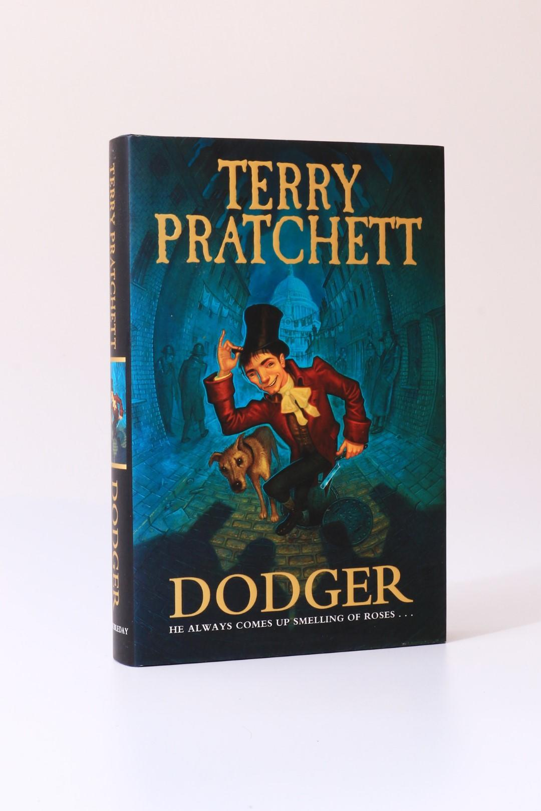 Terry Pratchett - Dodger - Doubleday, 2012, First Edition.