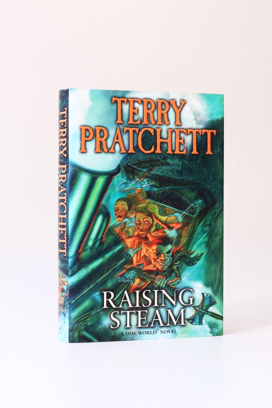 Terry Pratchett - Raising Steam - Doubleday, 2013, First Edition.