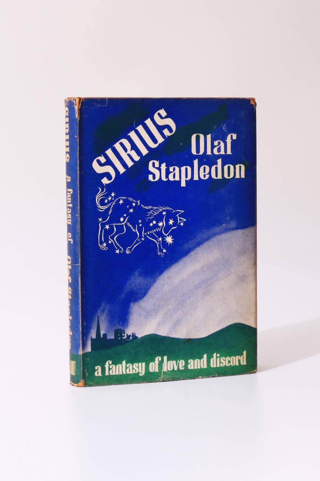Olaf Stapledon - Sirius - Secker & Warburg, 1944, First Edition.